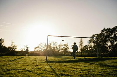 Football in the countryside